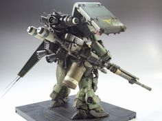 = AMS 119 Geara Doga. HG 1/144 Custom Build. 1st Prize WINNER Dengeki Hobby…