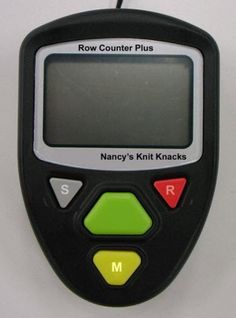Re-launch of our highly popular Row Counter Plus scheduled for May-June 2013