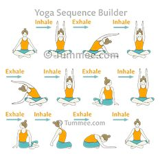 Plan your yoga sequences for all levels of students with variations of Easy Pose Warm Up Flow (Sukhasana Warm Up Vinyasa). Discover variations of more yoga poses to teach in your yoga classes! Ashtanga Yoga, Vinyasa Yoga, Yoga Restaurativa, Yoga Pilates, Yin Yoga, Warm Up Yoga, Yoga Position, Types Of Yoga, Yoga Sequences