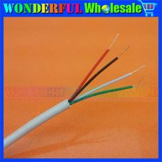 Data cable USB Cable Control lines electronic wire USB wire 4-core GB full copper 7*0.09*4 Four core quad core