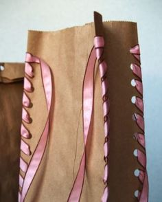 Ideas creativas con bolsas de papel craft |