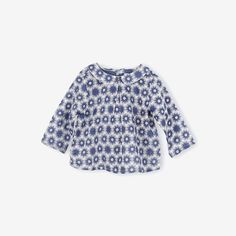 Flocons Peter Pan Baby Blouse