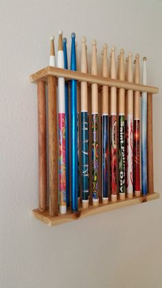 Drumstick display drumstick holder druumer by GoldnFireGems