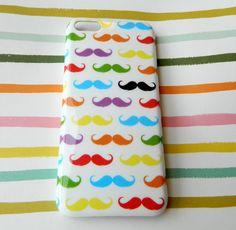 Mustache iPhone 5c case! Bonjour iPhone 5C case! Multicolor case! – LaFlorencita
