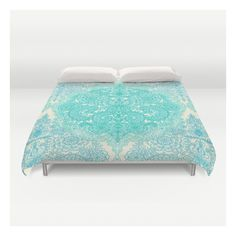 Happy Place Doodle In Mint Green & Aqua Duvet Cover ($129) ❤ liked on Polyvore featuring home, bed & bath, bedding, duvet covers, aqua duvet, king size duvet, king bedding, twin xl duvet insert and queen duvet insert