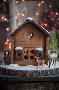 { Pour Julie et ses enfants… } | Saines Gourmandises Julie, Winter Solstice, Gingerbread, Bird, Outdoor Decor, Christmas, Home Decor, Allergies, Cooking