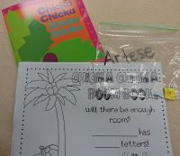 Back to School Chicka Chicka Boom Boom Activity easy and fun for the first few days of school!  {Freebie included in this post!}