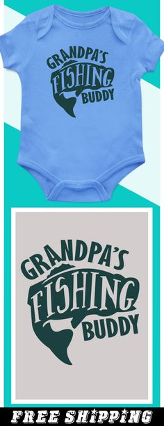 Grandpa's Fishing Buddy - Limited edition. Order 2 or more for friends/family & save on shipping! Makes a great gift!