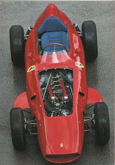 FERRARI 256 F1.1960 | F1 | Pinterest