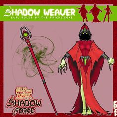 my redesign for a very beloved toy/cartoon line i hold near to my heart. my Shadow Weaver concept She Ra Princess Of Power, Concept, Deviantart, Weapon, Pop, Comics, Popular, Pop Music, Weapons