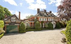 Edwardian house in Surrey, England