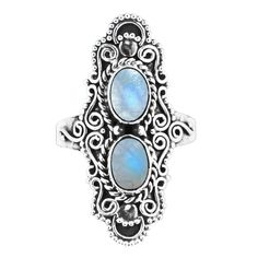 925 sterling silver Rainbow moonstone Weight: grams Choose your size Copyright Bohomoon 2019 Moonstone Jewelry, Silver Jewelry, Silver Rings, Bali Jewelry, Jewellery, Buy Rings, Other Accessories, Turquoise Bracelet, Engagement Rings