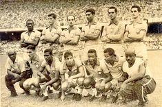 Equipos de fútbol: SELECCIÓN DE BRASIL contra Inglaterra 13/05/1959