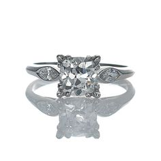 Leigh Jay Nacht Inc. - Circa 1930's Engagement Ring - Vr480-02 -- in love!
