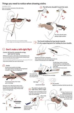 A summary of important points for drawing a violin player. Hope it helps. * It's better to seek reference from video clips of those famous v. Drawing violins - things you need to notice Violin Drawing, Violin Art, Violin Sheet Music, Drawing Base, Drawing Tips, Drawing Reference, Cello, Violin Painting, Drawing Hands