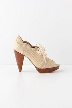 Anthropologie Enchantment Heels