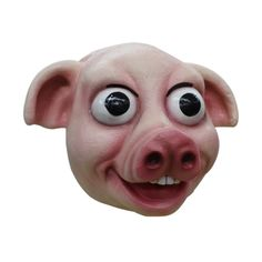 #BFCM #CyberMonday #Trendy Halloween - #Ghoulish Productions Excited Piggy Mask - AdoreWe.com