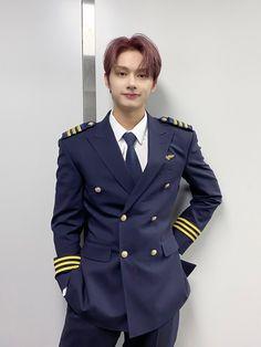 Woozi, Wonwoo, Jeonghan, The8, Seungkwan, Hip Hop, Seventeen Junhui, Pilot Uniform, Rap