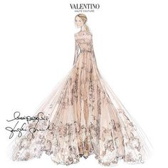 Frida Giannini, former creative director of Gucci, married her long-term partner—and former Gucci CEO—Patrizio di Marco on June 5. The bride wore custom-made Valentino.