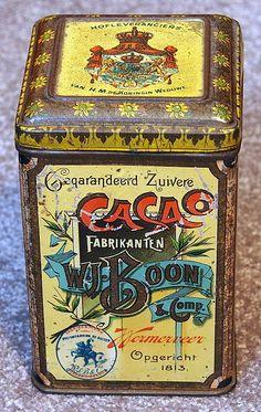Boon's cacao blik
