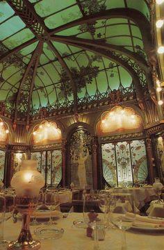 Art Nouveau ~ Restaurant in l'hôtel langham ~ Paris ~ France Benefik