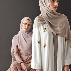 Modest Fashion for Modern Women by Inayah Abaya Fashion, Muslim Fashion, Modest Fashion, Fashion Outfits, Women's Fashion, Mode Abaya, Mode Hijab, Modest Dresses, Modest Outfits