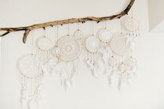 A few weeks ago my sister shot me throwing together this quick DIY of my vintage doily dreamcatchers  for anyone who would want to make the...