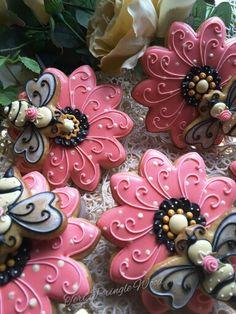 Flower been cookies