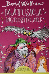 Matusica ingrozitoare - o carte amuzanta scrisa de David Walliams pentru copii