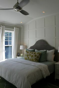 accent wall. accented with texture, not paint.