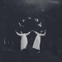 Deborah Sheedy is an artist living and working in Dublin. Deborah is a film student, a fact that shows in her atmospheric, black and white photography. aesthetic photography Atmospheric black and white portraits by Deborah Sheedy - Bleaq Dark Photography, Black And White Photography, Creepy Photography, Photography Styles, Photography Gifts, Wedding Photography, Arte Obscura, Southern Gothic, Witch Aesthetic