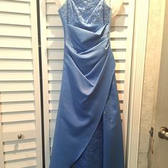Long dress Long blue dress. Only worn once. Dresses Prom