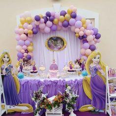 #events #eventsorganiser #birthdaypackage #themedparty #rapunzeltheme #rania5thbirthday #mydubai #dubai #uae Rapunzel Birthday Party, Tangled Party, Disney Princess Party, Minnie Birthday, Princess Birthday, Dessert Table Birthday, Birthday Party Tables, 4th Birthday Parties, Birthday Bash