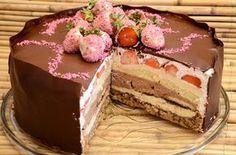 Barbarina torta sa jaffa keksom,piskotama i jagodama