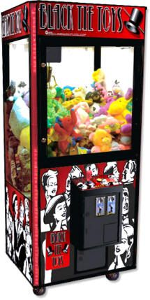 Black Tie Toys Crane Claw Game Machine                                                                                                                                                     More