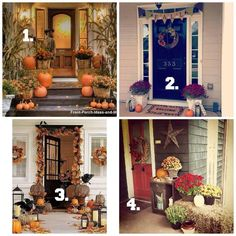 Which front porch decor is your favorite?