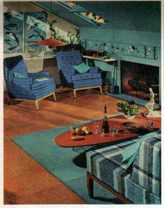 retro future living | Living room of the future | For the Home