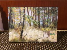 Autumn forest by HYpaintings on Etsy