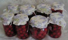 Gyümölcs eltevése gőzölés nélkül - Többször kibontható, nem romlik el - Ketkes.com Hungarian Recipes, Ketchup, Food Storage, Preserves, Pickles, Pantry, Flora, Muffin, Baking