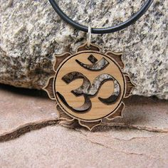Small Om Cutout Pendant by BijouxBee on Etsy, $8.00