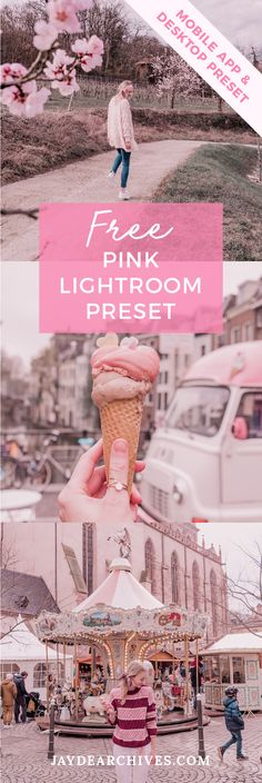 Free L. Photography Editing, Photography Tutorials, Creative Photography, Photo Editing, Lightroom Gratis, Lightroom Presets, Pink Instagram, Foto Instagram, Pink Filter