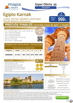 Egipto Karnak Sept-Oct-Madrid y Barcelona**Precio Final 899** ultimo minuto - http://zocotours.com/egipto-karnak-sept-oct-madrid-y-barcelonaprecio-final-899-ultimo-minuto-2/