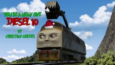 "I had to re-upload this for a spelling error lol I hope you enjoy my parody ""You're A Mean One Diesel You're a mean one, Diesel You dominate the lin. Parody Songs, Thomas The Tank, Thomas And Friends, Outdoor Power Equipment, Diesel, Engineering, Lol, Diesel Fuel, Thomas The Train"