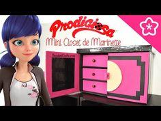 Mini Closet de Marinette La Prodigiosa Ladybug - DecoAndCrafts - YouTube