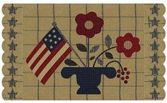 Minick & Simpson: Stitching, Free wool penny rug pattern