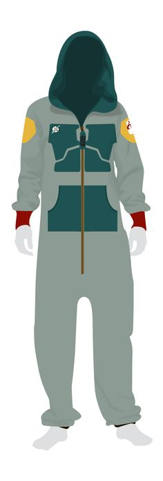 On other one of our adult Star Wars onesies, this time we have the Boba Fett onesie. Go to bed in style with one of our themed onsies from www.thefilmcell.com for just £39.99
