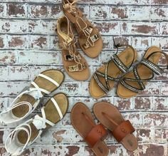 Stock up on sandals for all of your summer...