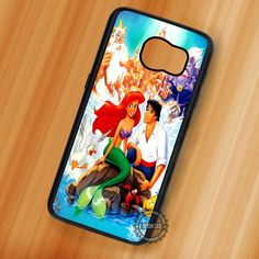 Sweet Couple Ariel The Little Mermaid - Samsung Galaxy S7 S6 S5 Note 7 Cases & Covers