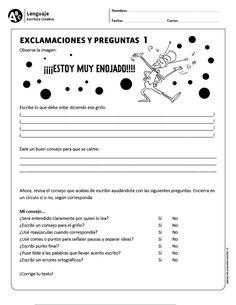 Exclamaciones y preguntas 1