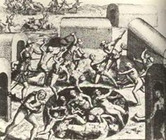 They Threw Native People Into . is listed (or ranked) 4 on the list 15 Brutal Ways Conquistadors Killed and Tortured Native People Real Horror Stories, Discovery Animal, Maya, Native American History, Ancient History, Old Photos, Nativity, Drawings, Prints